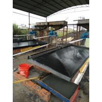Gold recovery machine shaking table for gold