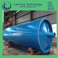 High profitable factory direct high oil yield waste tyre pyrolysis plant
