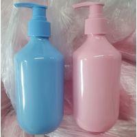 2 oz 4 oz 6 oz 8 oz 12 oz 16 oz Pink PET Modern Round Lotion Bottle with Lotion Pump