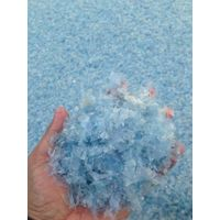 Best Quality Of Pet Flakes Light Blue Hot Washed