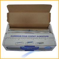 Food service aluminum foil roll for freezing,baking and cooking