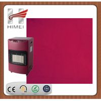 VCM colored film laminate steel sheet for warmer