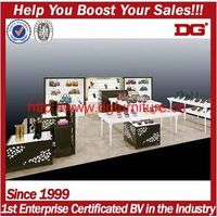 Elegant Top Quality Shoes Exhibition Stand Furniture For Shoe Shop