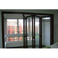 Aluminium alloy folding door for living room
