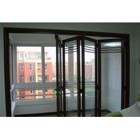 Aluminium alloy folding door for living room