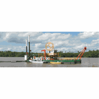 HS-25YP CUTTER SUCTION DREDGER