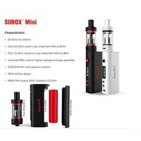 Original Kanger Subox Mini Starter Kit Hot E Cig kit 50W OCC RBA Coil Subtank Mini Kbox Mini 50w E C