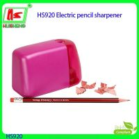 pink electric pencil sharpener
