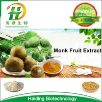Natural Sweetener Organic Mogroside Luo Han Guo Extract Monk Fruit Extract Powder