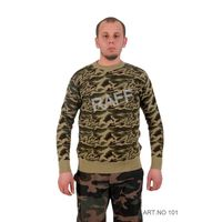Army Camouflage Sweater Wool-Acylic / Chandail Militaire Camouflage Laine - Acrylic thumbnail image