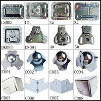 Wholesales Butterfly Latch /Turn Latch /Rotary Draw Latch for flight case
