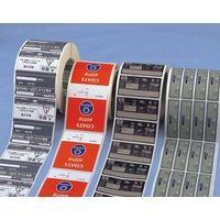 custom high quality adhesive overlay label