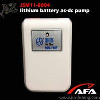 made in china lithium battery ac-dc pump for fish and shrimp