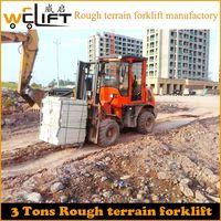 3T Rough Terrain Forklift