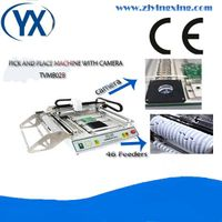 TVM802B SMD Pick and Place Machine With Camera 46 Feeders