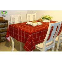 Hot Handmade Pure Cotton Environmental European Style Table Cloth for home/ party/ hotel restaurant