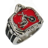 Eagle star biker ring