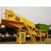 mobile concrete mixing plant HZS35