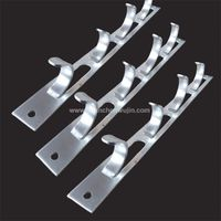 Tunnel cable hanger Stamped bending parts  thumbnail image