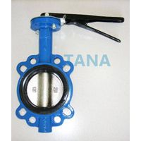 Two-PC Stem Butterfly Valve without pin