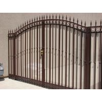 garden gate made in aluminum/steel