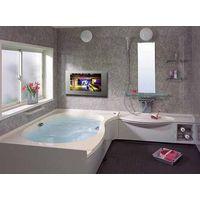 Waterproof LCD TV used in hotle/club bathroom