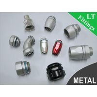 DELIKON metal liquid tight connector,METRIC and PG liquidtight connector and fittings LIQUID TIGHT m