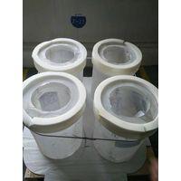 Thickness wall quartz tube for optical fiber application
