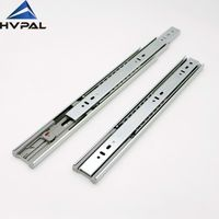 45 mm full extension soft close drawer slide