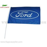 Promotional Hand Flag Ford On Hot Sale