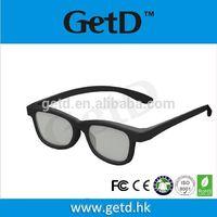 Europe style cinema polarizing 3d glasses for new 3d movie thumbnail image