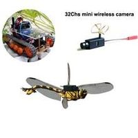 32channels mini 5.8G wireless camera with audio