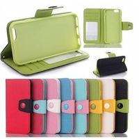 """Magnetic Flip Wallet PU Leather Stand Case Cover For Apple iPhone 6 4.7"""" thumbnail image"""