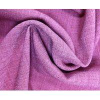 Double layer Imitation linen fabric
