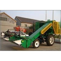 wheat combine harvester mount on tractor(4LD-2.0 ) thumbnail image