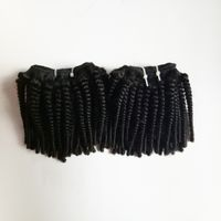 Brazilian human hair Wholesale afro kinky curly hair extensions Unprocessed human virgin hair