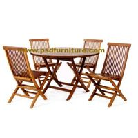 outdoor furniture dining table wooden chair 32