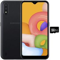 Samsung A01 (16GB, 2GB RAM) 5.7 Infinity-V Display, Dual Rear Camera