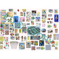 All Kinds of Licensing ,Tattoo Stickers, PVC Sticker   A-2000 thumbnail image