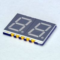 """0.39"""" 2 digit ultra thin numeric anode blue led segment SMD display GS3921AB"""