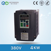 New 380v AC 4kw 5HP VFD Variable Frequency Drive VFD Inverter 3 Phase Input 3 Phase Output Frequency
