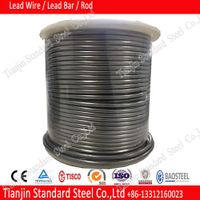 0.3mm 0.5mm 1mm 2mm 3mm 4mm Lead Alloy Wire used in industrial