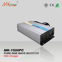 Inverter new products Pure sine wave inverter with charger 12v 220v 1500w