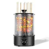 Vertical Rotisserie Oven 1100W, Multi-Function Electric Grill Smokeless Shawarma Rotating Oven Barbe thumbnail image