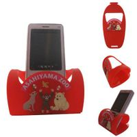 Mobile phone holder with sofv pvc Material thumbnail image