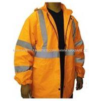 Safety Reflective Clothing-Reflective Safety Rain Jacket (R8811)