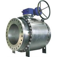 High pressure trunnion ball valve