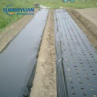 Agricultural black plastic pe mulch film / mulch paper made in China thumbnail image