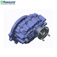 Rawsuns NEW reducer 350Nm 12000rpm parallel shaft gear box ratio 3.043 reductor ev gearbox for 4.5 t thumbnail image