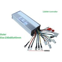 1200W E-Bike Hub Motor Controller 18 POWER MOSFET
